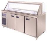 臥式沙拉工作臺冰櫃